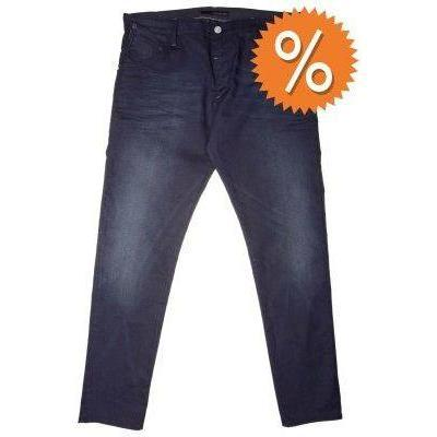 Calvin Klein Jeans TAPERED LOW CROTCH Jeans blau coated
