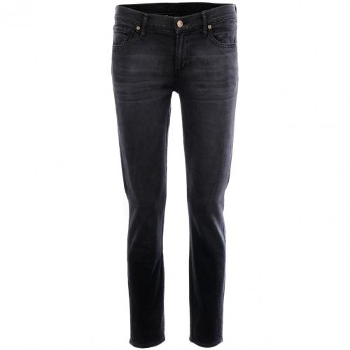 Citizens of humanity Black Skinny Jeans Thompson Cropped
