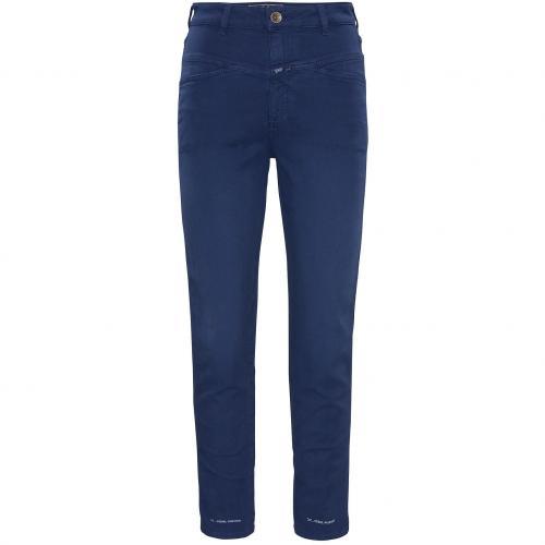 Closed Damen Jeans Pedal Pusher Blau 524