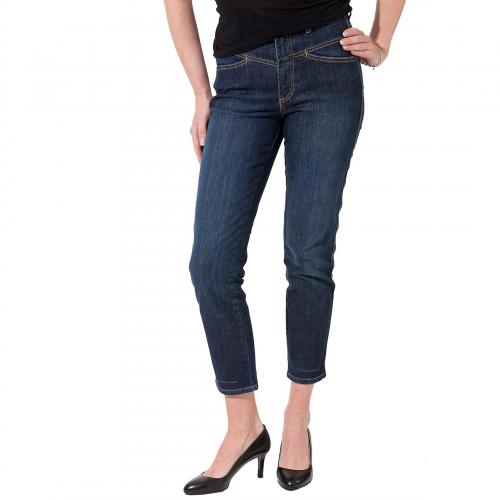 Closed Damen Jeans Pedal Pusher Stoned Blue 01