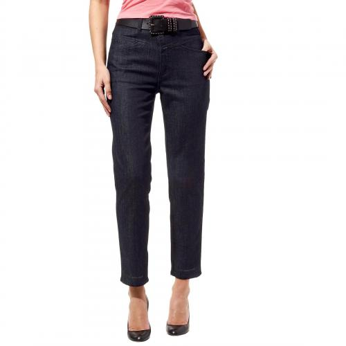 Closed Damen Jeans Pedal Pusher Stoned Blue 20