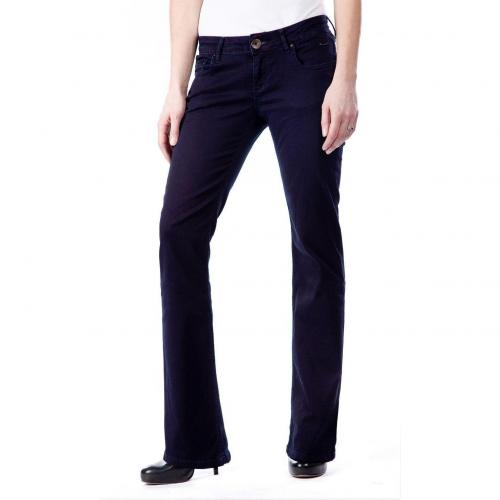 Cross Jeans Julie Überlänge 36 Bootcut Navy