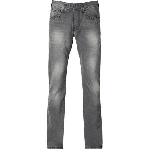 Current Elliott Antique Grey Slim Straight Leg Jeans
