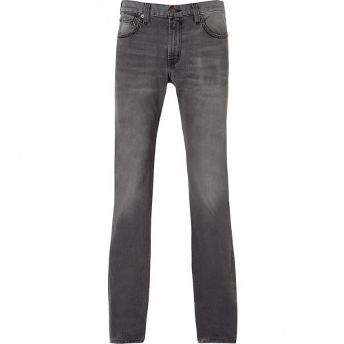 Current Elliott The Slim Medium Grey Straight Leg Jeans