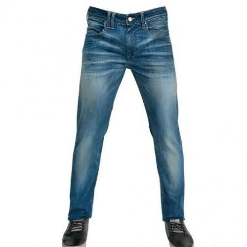 Cycle - 17,5Cm Super Stretch Washed Denim Jeans