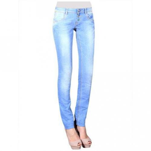 Desigual - Slim Modell Guipur Farbe Helle Waschung