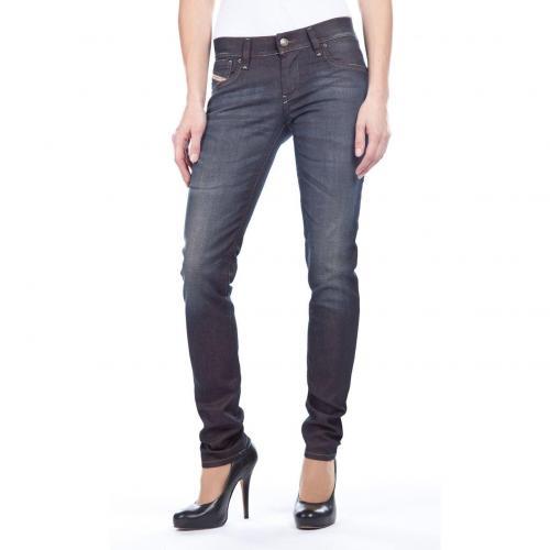 Diesel Getlegg Jeans Slim Fit Dark Used
