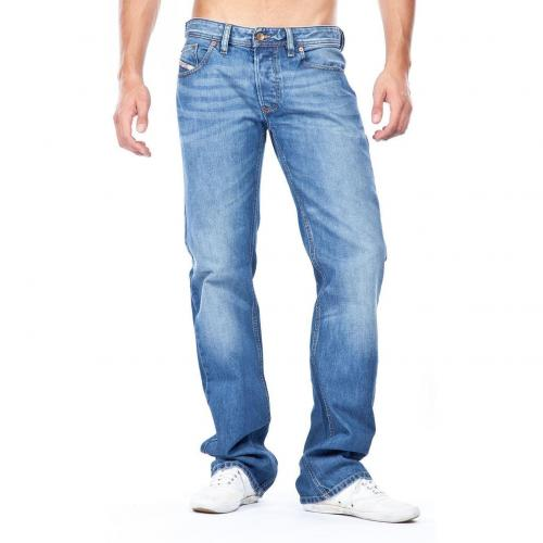 Diesel Larkee Straight Fit Jeans Stone Used Straight Fit