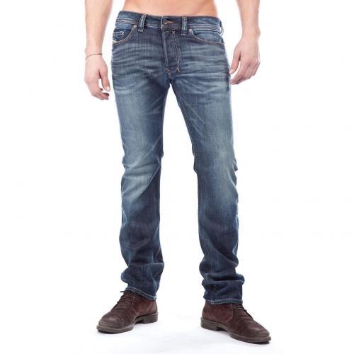 Diesel Safado Jeans Straight Fit Dark Used