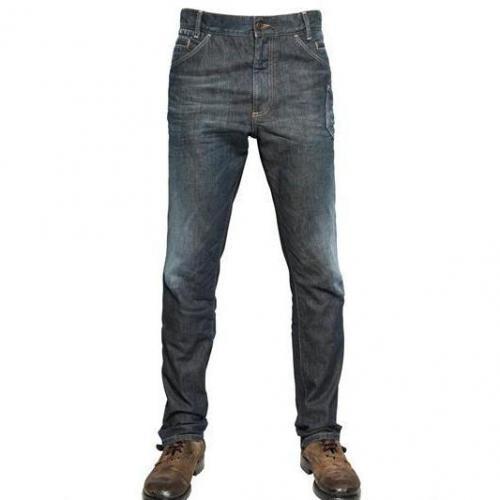 Dolce & Gabbana - 19Cm Seitliche Tasche Denim Jeans