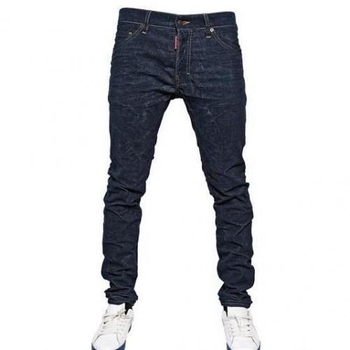 Dsquared - 16.5Cm Corduroy Druck Cool Guy Jeans