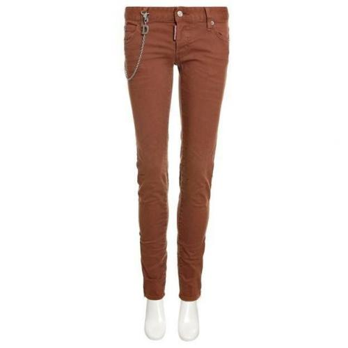 Dsquared Jeans Super Slim Jean brown