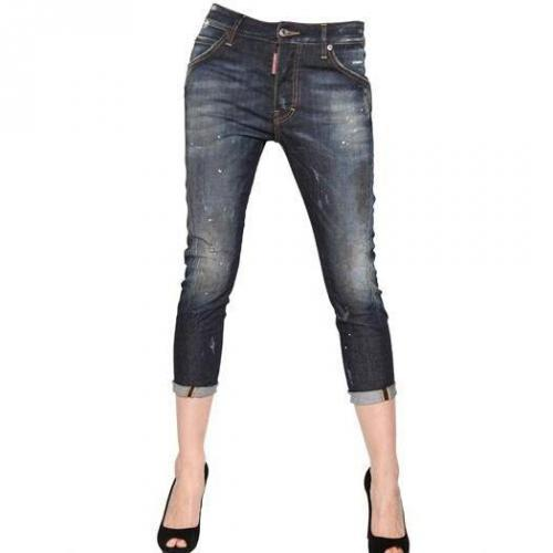 Dsquared - Kenny Twist Washed Stretch Denim Jeans
