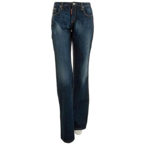 dsquared marlene jeans navy mydesignerjeans. Black Bedroom Furniture Sets. Home Design Ideas