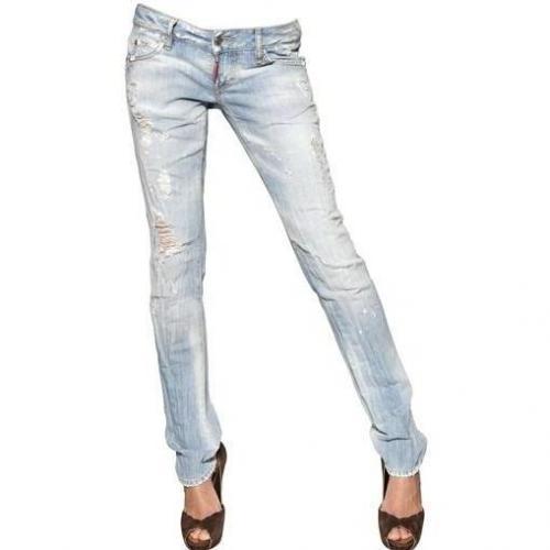 Dsquared - Slim Destroyed Denim Jeans