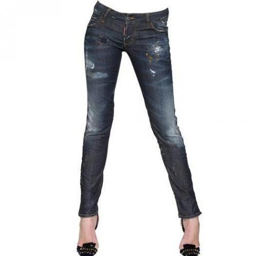 Dsquared - Super Slim Stretch Baumwoll Jeans