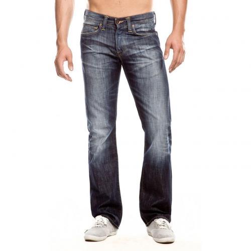 Edwin ED 47 Regular Jeans Straight Fit Dark Used