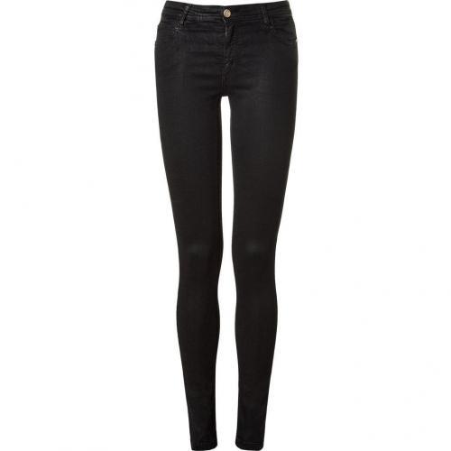 Faith Connexion Black Silicon Skinny Jeans
