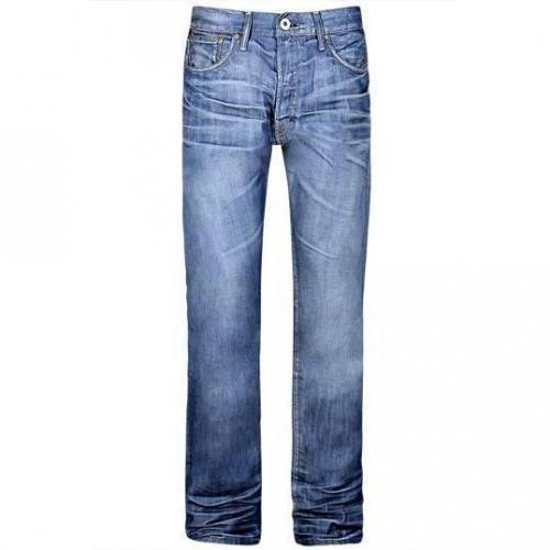 Firetrap - Hüftjeans Tailor Supply Blaue Waschung