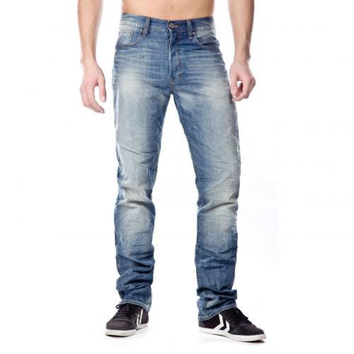 G-Star 3301 Jeans Straight Fit Used Überlänge 38