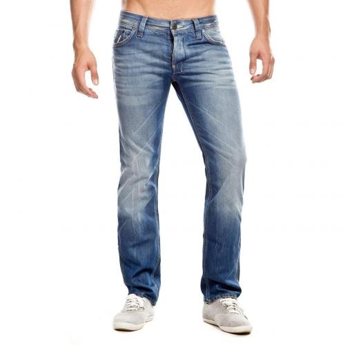 G-Star Attacc Low Straight Jeans Straight Fit Stone Used