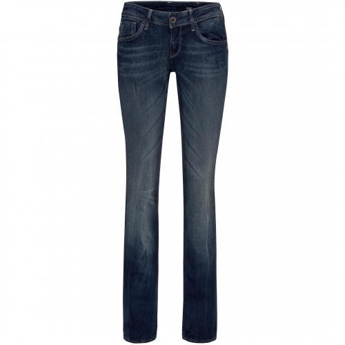 g star damen jeans attacc straight dk aged. Black Bedroom Furniture Sets. Home Design Ideas