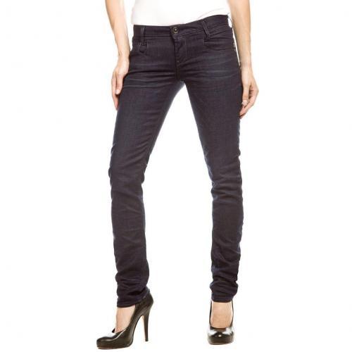 G-Star New Radar Skinny Jeans Slim Fit Dark Used Überlänge 36