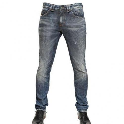 Galliano - 17,5Cm Super Skinny Fit Denim Jeans