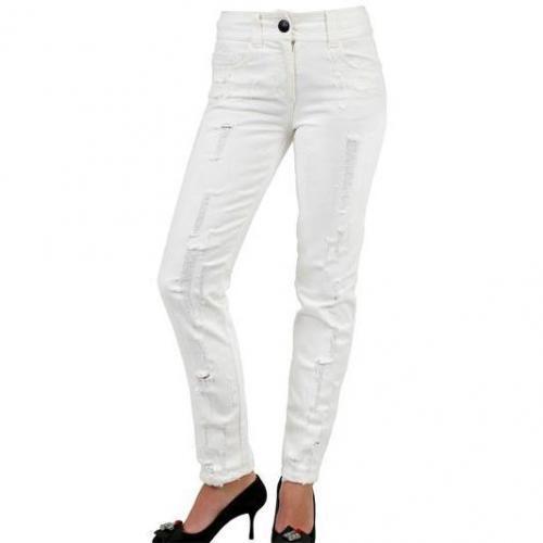 Giambattista Valli - Destroyed Denim Jeans