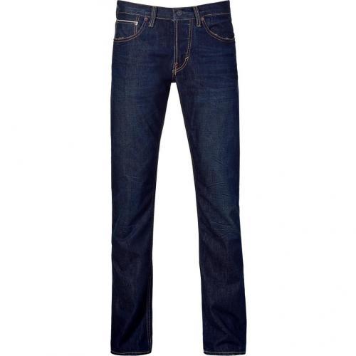 Gilded Age Dark Wash Gotham Straight Leg Jeans