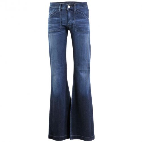 Goldsign Blue Boot Cut Jeans Unique