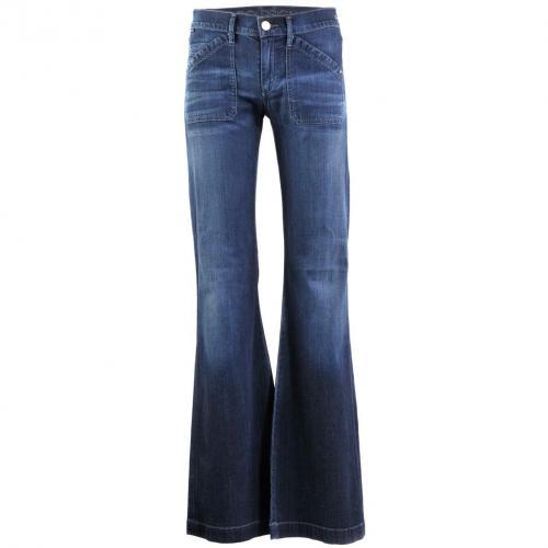 Goldsign Blue Boot Cut Jeans Unique
