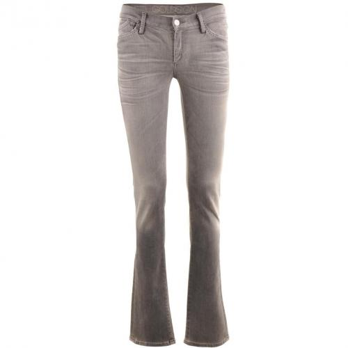 Goldsign Light Grey Skinny Jeans Misfit