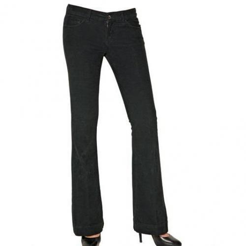 Good Mood - Corduroy Stretch Boot Cut Jeans