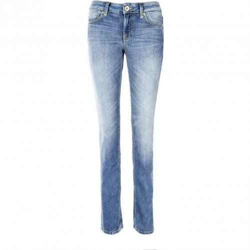 Guess Nicole Skinny Jeans Slim Fit Stone Used
