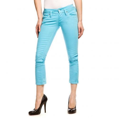 Hilfiger Denim Nevada Capri 7/8 Jeans Slim Fit Türkis