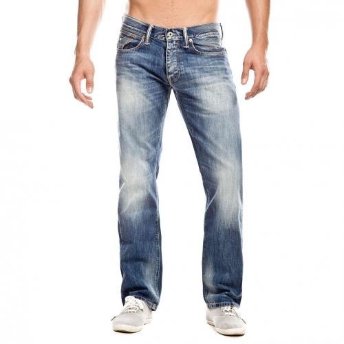 Hilfiger Denim Rogar Regular Jeans Straight Fit Used