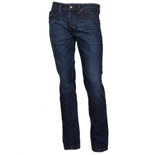Imperial Straight-Fit Jeans blau
