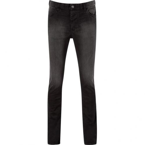 Iro Black Washed Straight David Jeans