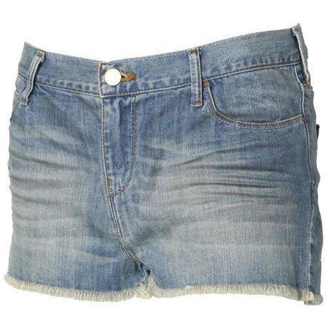 Iro Jeans-Shorts Milly blau