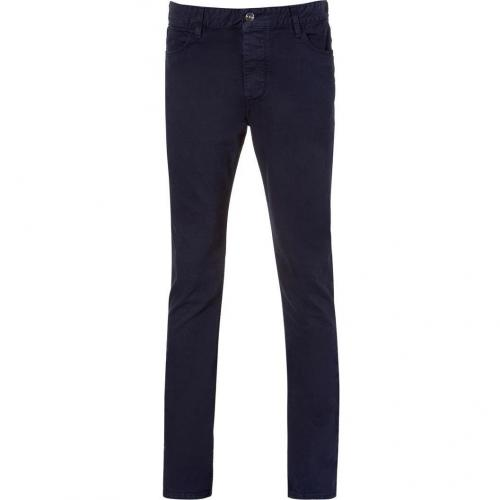 Iro Navy Blue Straight Damien Jeans
