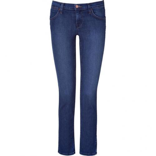 J Brand Jeans Vivid Low-Rise Peyton Jeans