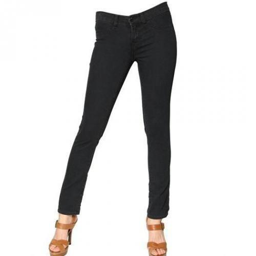 J Brand - Low Rise Super Soft Denim Stretch Jeans
