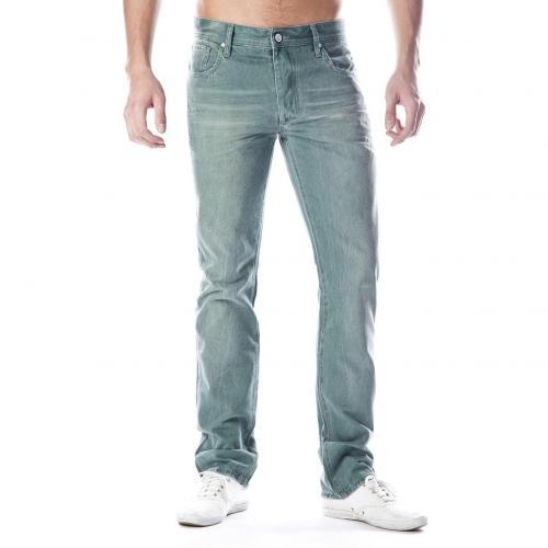 Jack & Jones Tim Jeans Straight Fit Grün