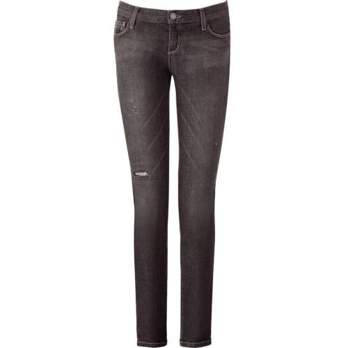 LAgence Black Repair Skinny Jeans