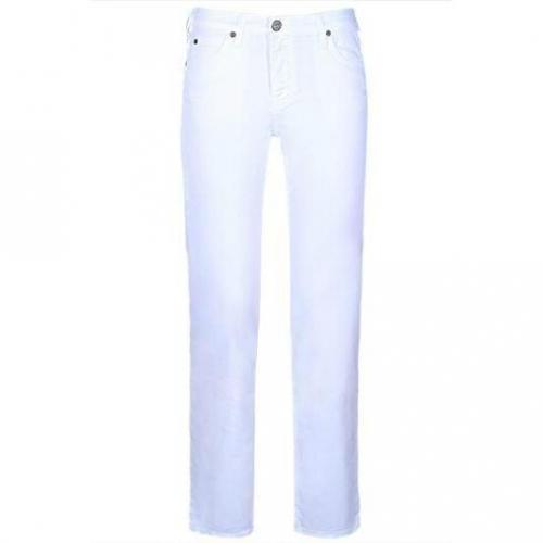 Lee - Boot Cut Modell Marion Straight White Farbe Weiß
