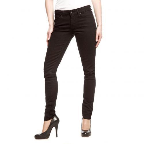 Levi's Demi Curve Skinny Jeans Slim Fit Schwarz