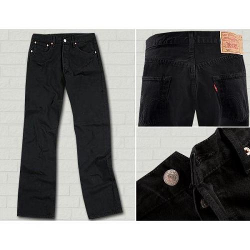 Levi's® Jeans Basic black 501/01/65
