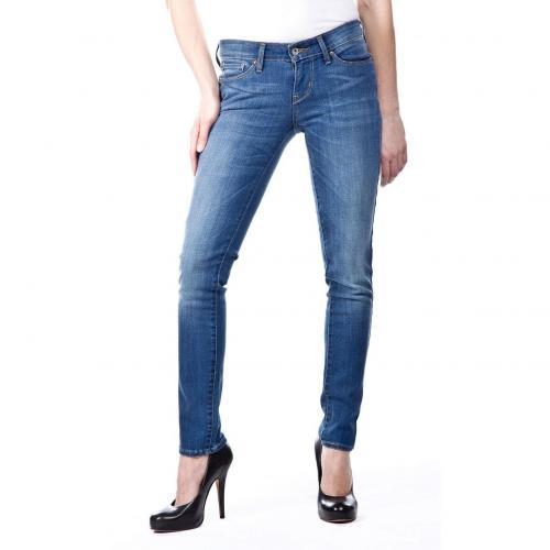 Levis Slight Curve Skinny Jeans Slim Fit Used