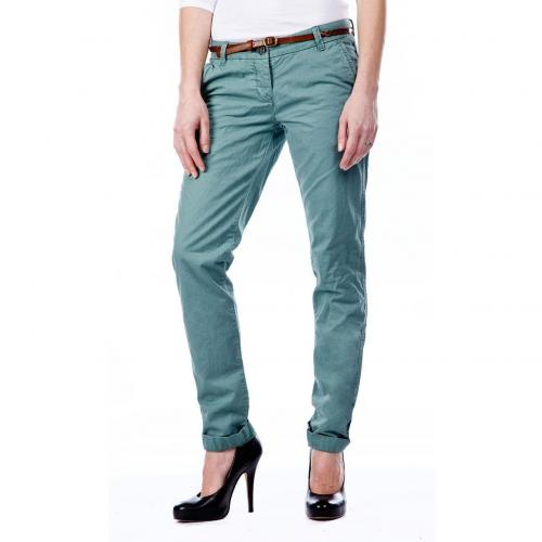 Maison Scotch Bella Chino Straight Fit Grün